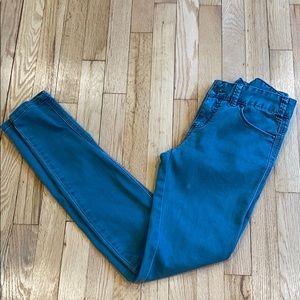 Free people skinny jeans 27